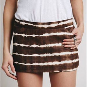 ACACIA Swimwear Argentina Leather Skirt
